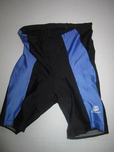 Sz XL L Cycling Wear by Performance Bycycle Shorts Black Padded Seat Stretch | eBay