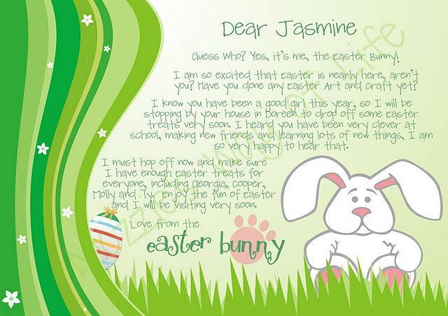 Mozzieswayoflife Easter Bunny Easter Bunny Letter Easter Images