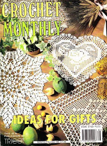 Crochet Monthly 186 Lita Z Lbuns Da Web Do Picasa Crochet
