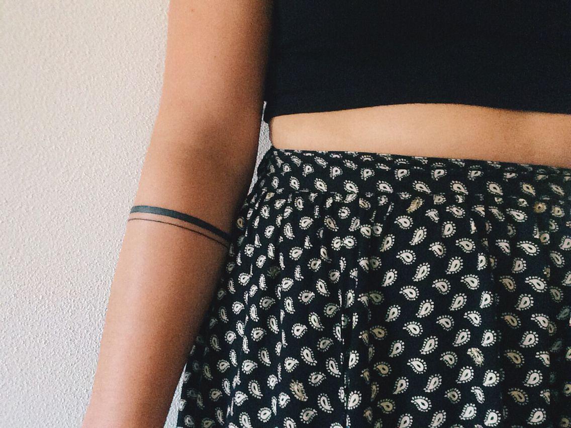 my arm band tattoo