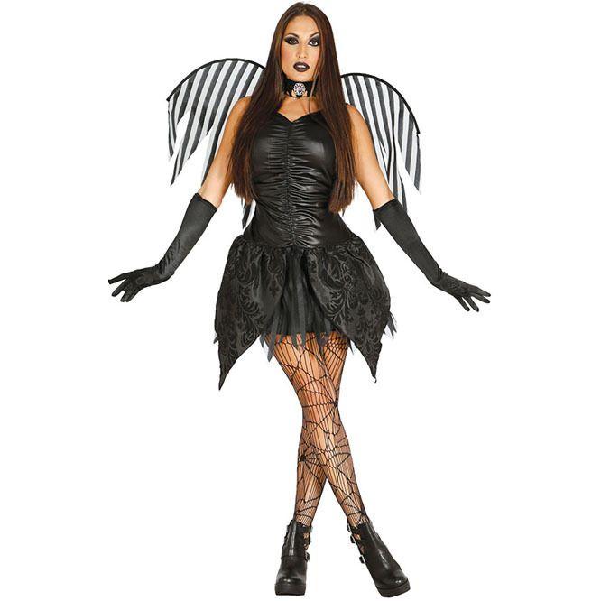 23ea6b20fb Disfraz de Hada Negra para mujer