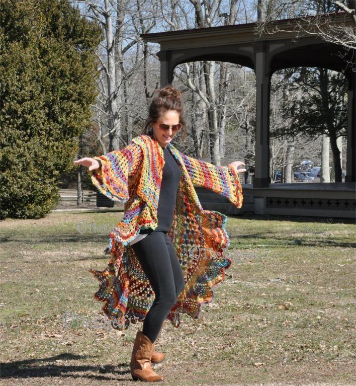 Hippie Sweater Boho Sweater Quot Rock A Little Quot Crochet