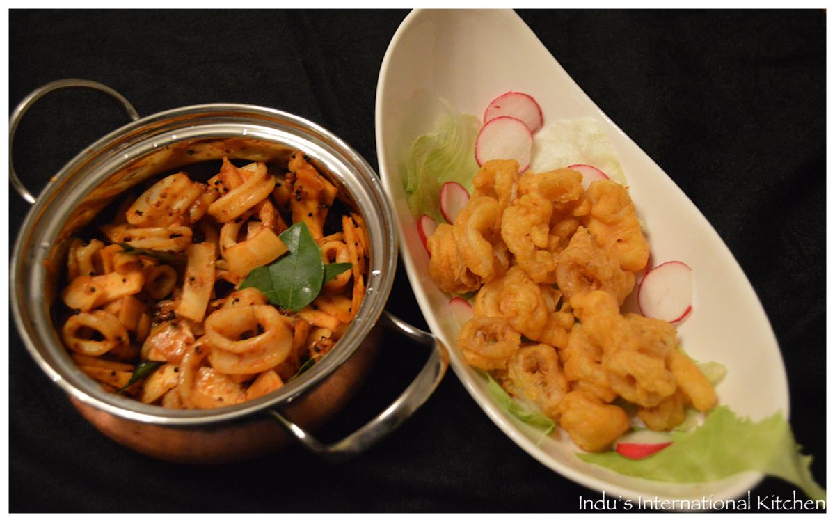 Until a few years ago I thought that calamari was 'fried squid' - i.e I thought the name of the dish where squid was fried was calamari! So I am sure that some of you might still be under that conf...
