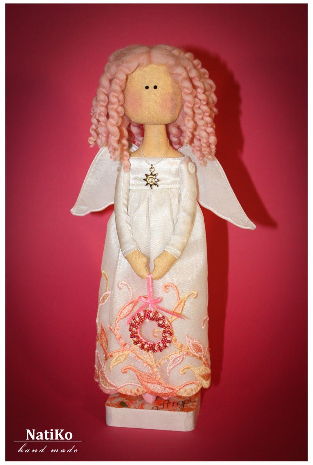 Ручные мечты: Christmas Angel. Мастер-класс по пошиву.