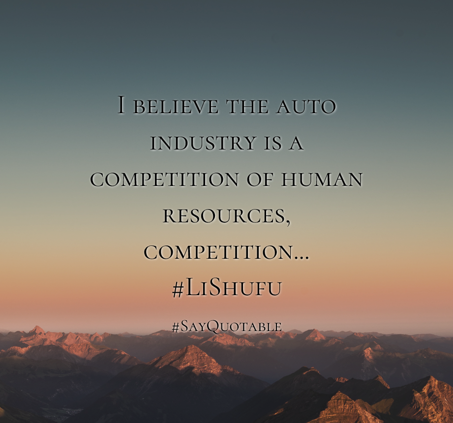 Pre K Quotes Quotes About I Believe The Auto Industry Is A Competition Of Human