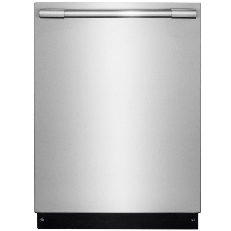 Frigidaire Professional Fpid2497rf 47 Decibel Built In Dishwasher Bottle Wash Feature Smudge Proof Stainless Steel Appliances In 2019 Stainless Steel Dishwasher
