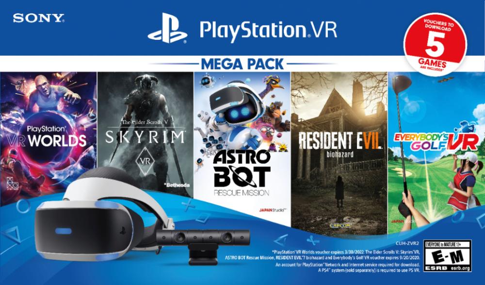Best Buy Sony Playstation Vr Bundle Five Game Pack 3004966 Sony Playstation Vr Playstation Vr Sony Playstation Ps4