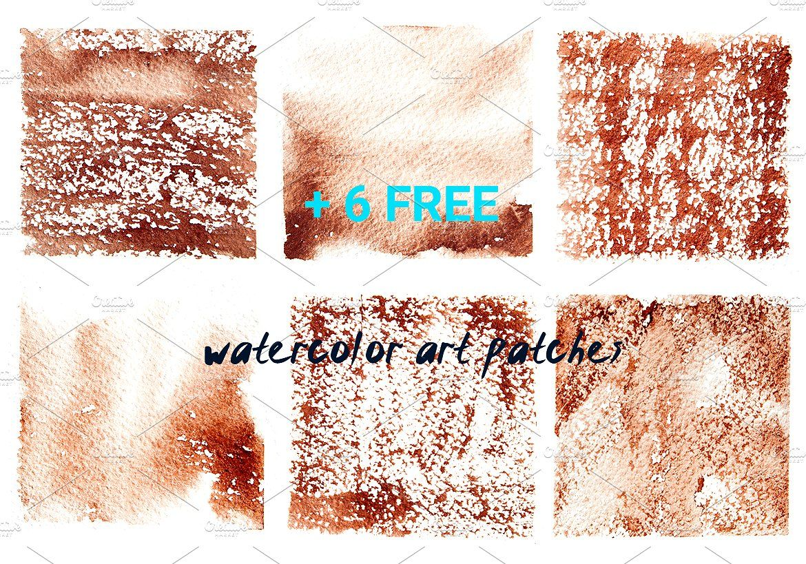 Watercolor Art Brushes For Photoshop Art Commercial Abr Projects