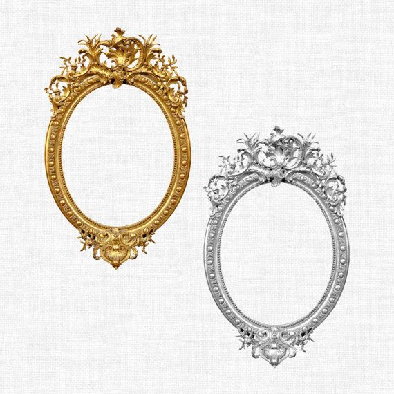Oval frame clip art. Oval digital frames, 13 oval digital ...