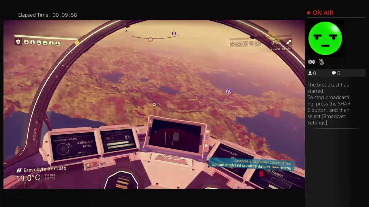 First no mans sky gameplay