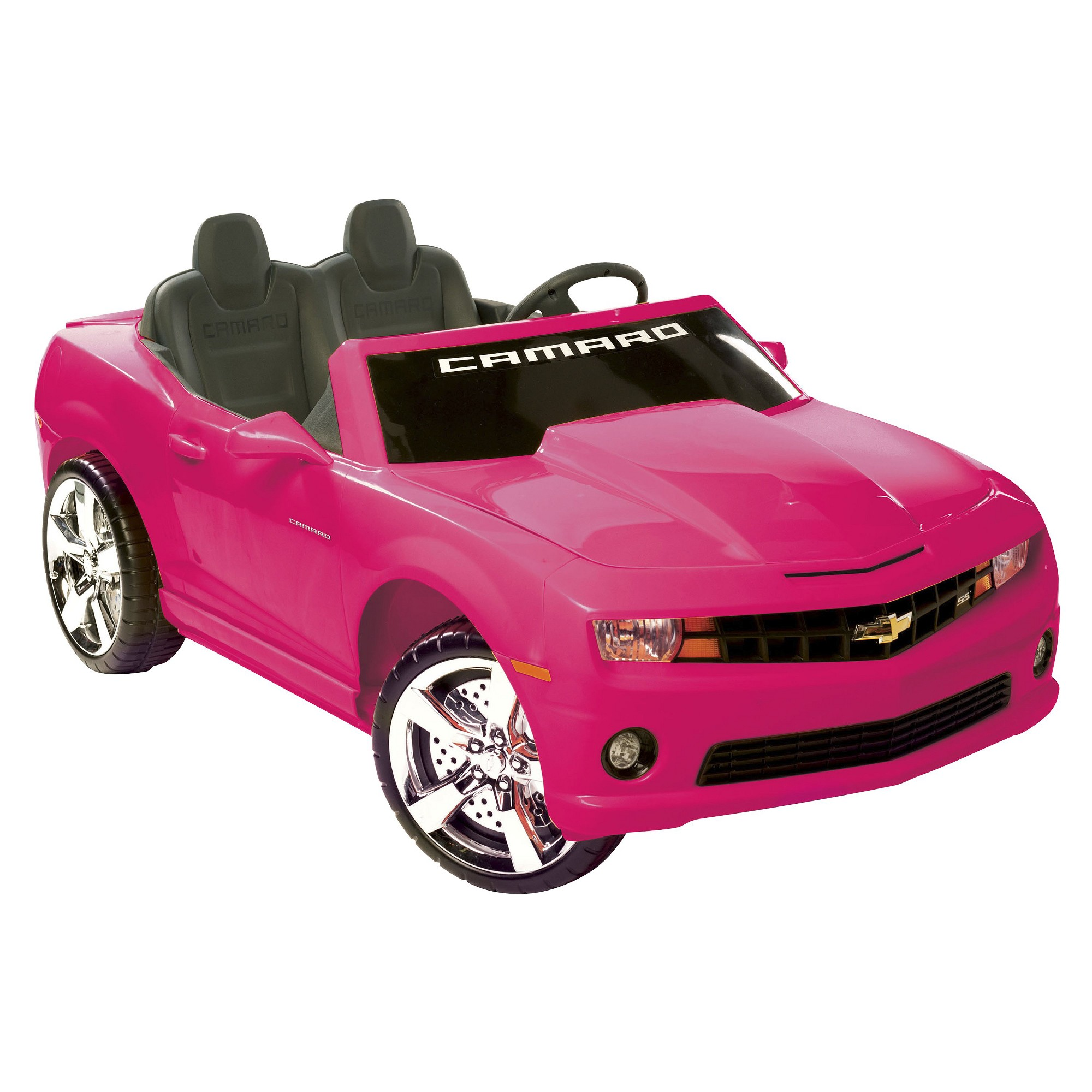 Kid Motorz Chevrolet Camaro 12v Two Seater Ride On Pink Products
