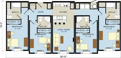 Student Housing Design Building Systems Duplex Design Student House