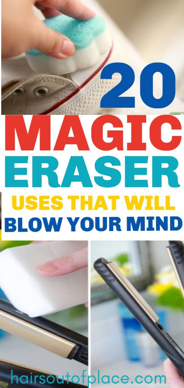 20 Crazy Uses for Magic Erasers That'll Simplify Your Life