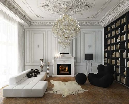 Eye For Design: Decorating Paris Apartment Style.........A Grand ...