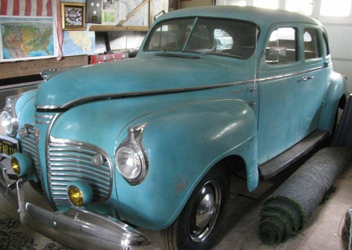 Cheap Driver: 1941 Plymouth 4 Door Sedan - http://barnfinds.com ...