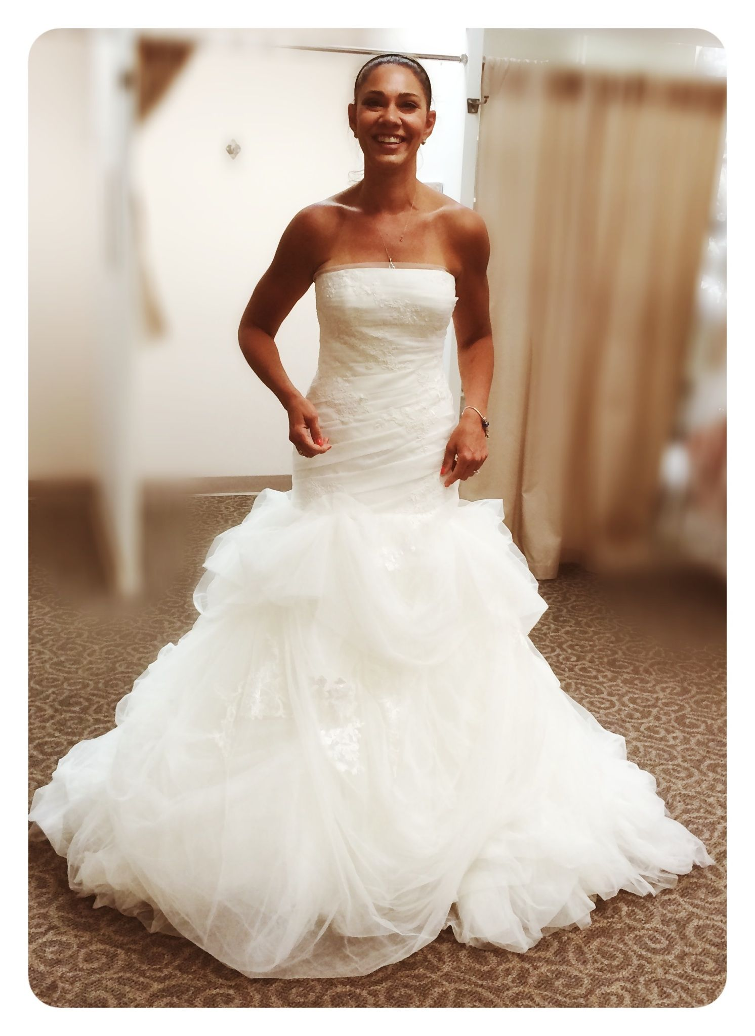 Vera wang style vw351166 size 8 wedding dress more for White by vera wang wedding dresses