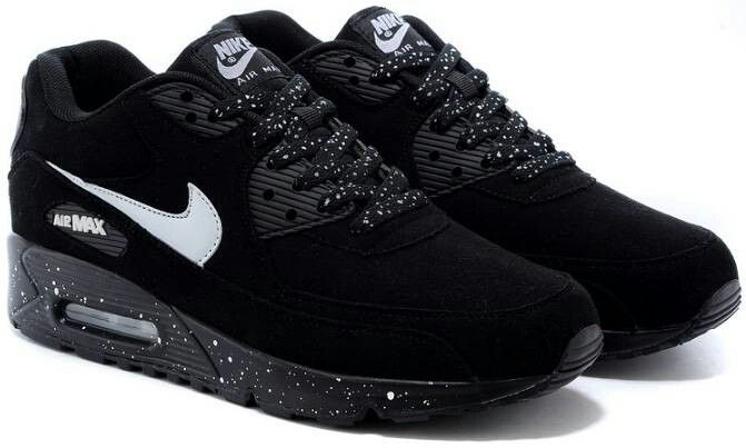 88b8bacf9570c Nike air max 90 brush black