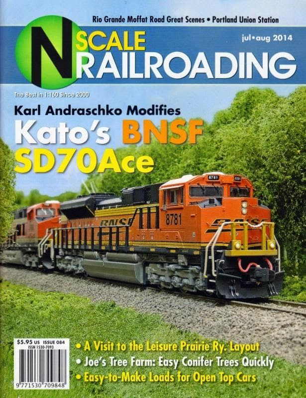 The Skally Line  Sd70ace In N Scale Railroading