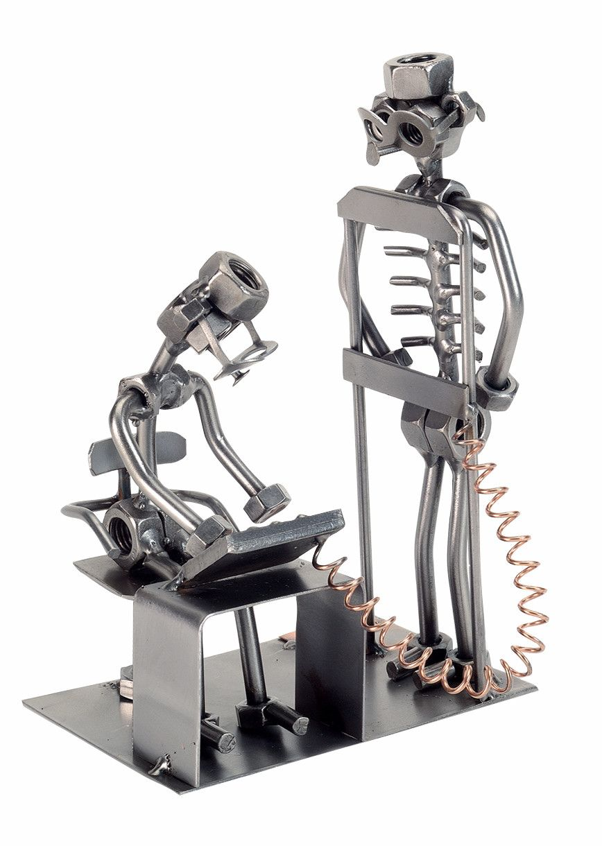 Radiologist Nuts and Bolts Sculpture Radiologist