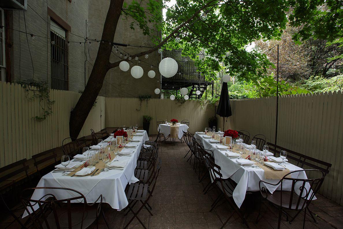ici restaurant backyard jumping the broom pinterest backyard