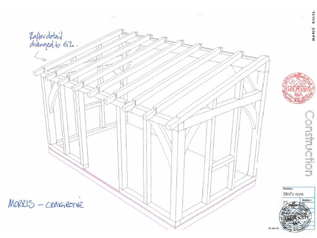 Best Morris Elevations2 Jpg 1024×768 Oak Framed Extensions Timber Frame Wooden Room 400 x 300