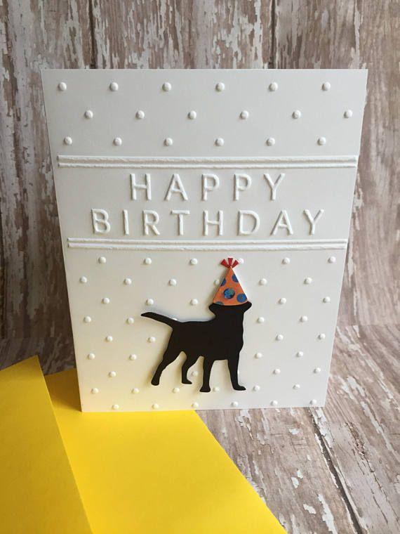 Lab Card Labrador Retriever Birthday