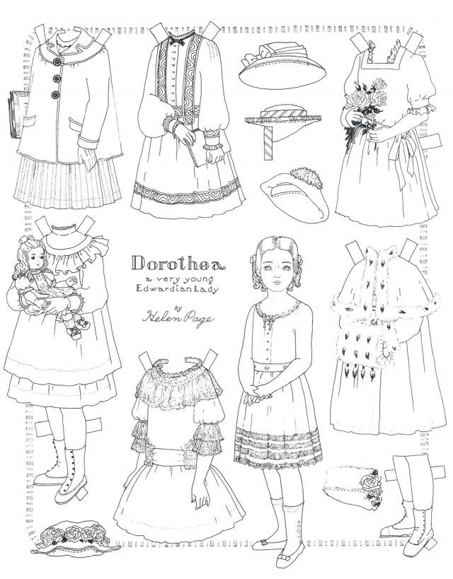 madame alexander coloring pages | american girl printables | American Girl Doll McKenna ...