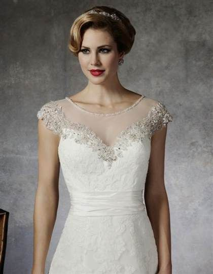 sheer neckline wedding dress 2016 » Ad Board | Fashion 2017 ...