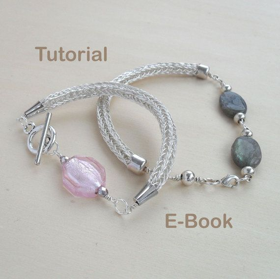 Wire Weaving Tutorial Viking Knit Bracelet Tutorial E Book How To