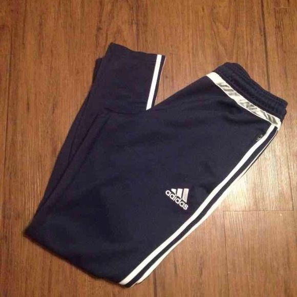 Adidas Climacool Track Pants Like new condition! No flaws! Navy blue! Size M! Adidas Pants Track Pants & Joggers