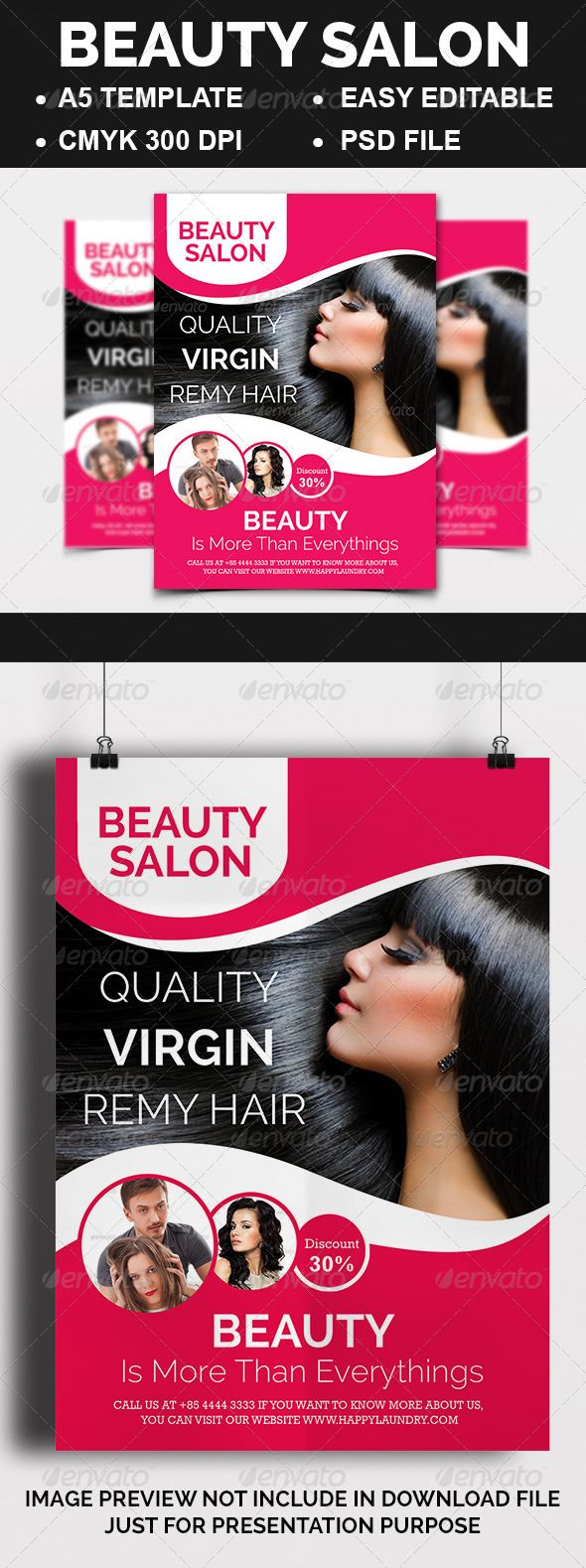 Beauty Salon Promotion Flyer