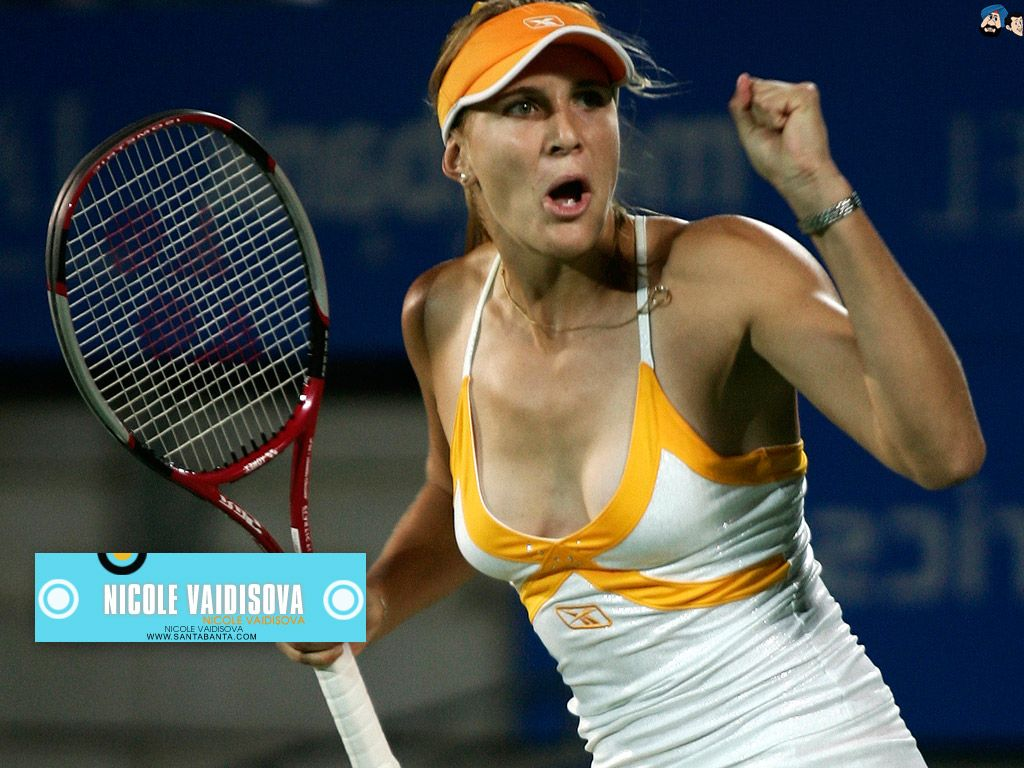 Nicole Vaidisova, Tennis Player  Leaked Celebs  Tennis -4512