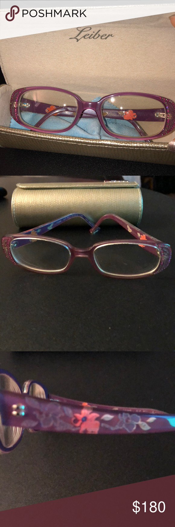 5203965c3c Beautiful Judith Leiber glasses! Put your prescription in them! There s  already one in there