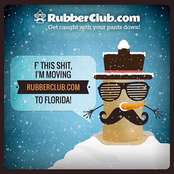 Stay nice and warm at www.RubberClub.com ... #RubberClub #condoms #AnotherBlizzard