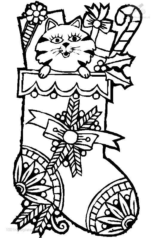 1001 Coloringpages Coloring Page Christmas Sock Free Christmas Coloring Pages Christmas Coloring Sheets Coloring Pages
