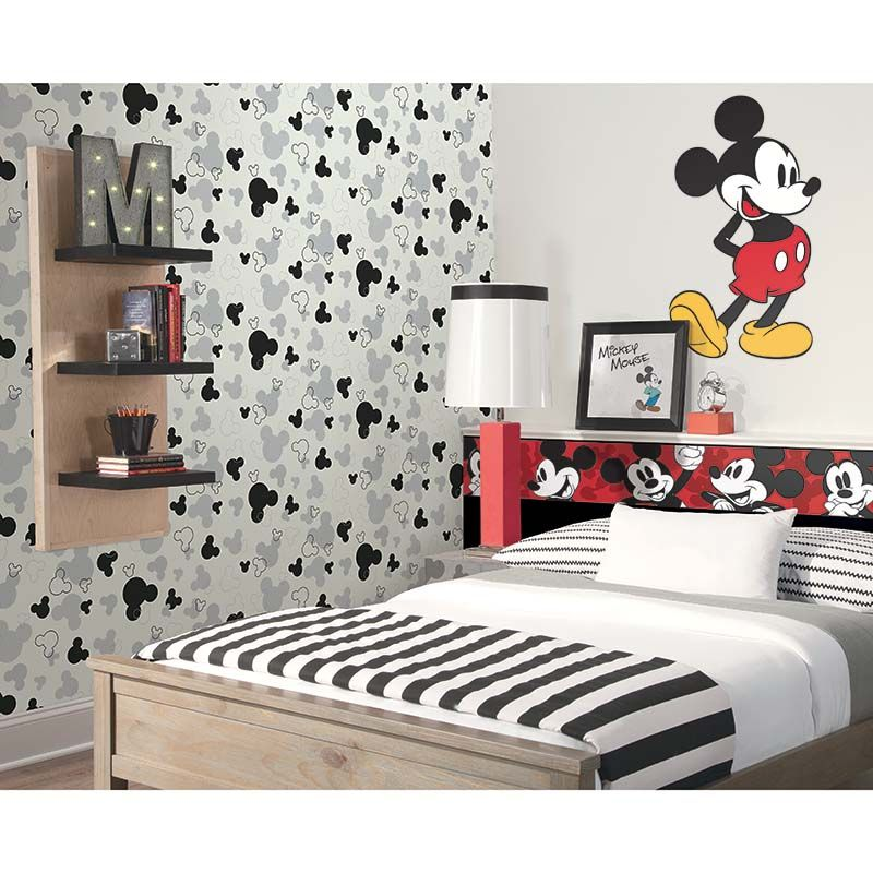 TÊTES DE MICKEY   DK5929 Collection papier peint   Disney, Marvel