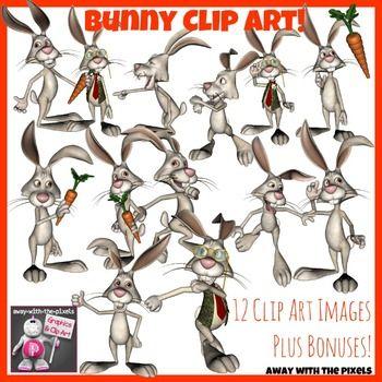 Funny Bunny Clip Art 14 Rabbit Clipart Images Rabbit Clipart Funny Bunnies Cute Animal Clipart