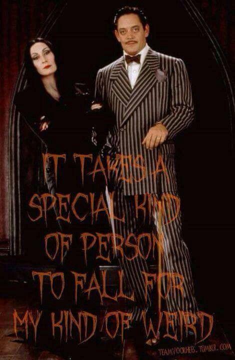 Morticia And Gomez The Addams Family Pinterest Love