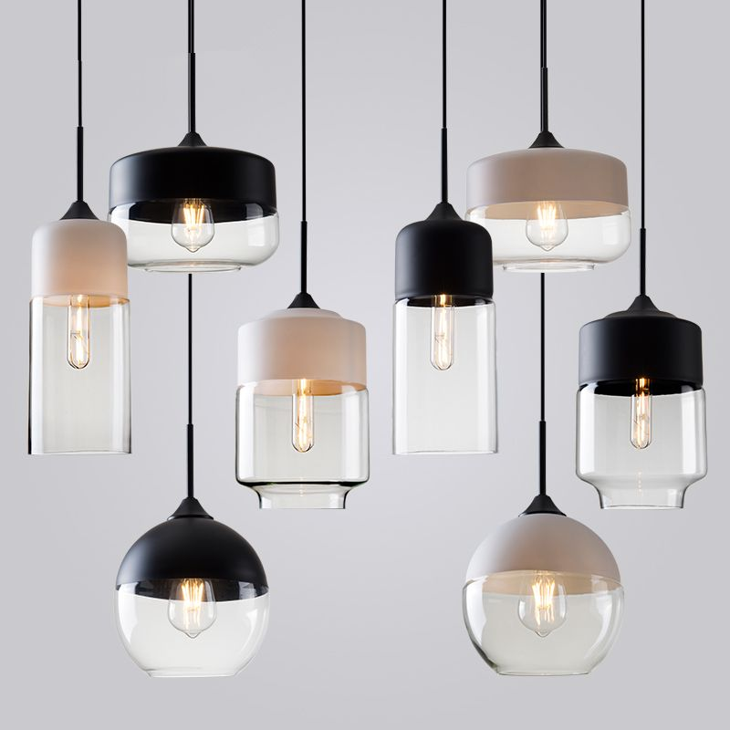 Hanging Lamp Design: Modern Contemporary Retro Art Metal Glass Pendant Lamps