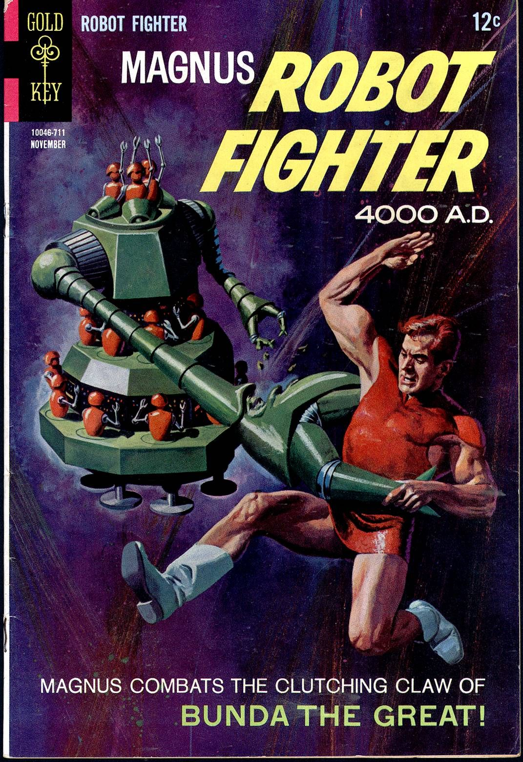 Magnus Robot Fighter 4000 Ad Issue 20 Read Magnus Robot Fighter 4000 Ad Issue 20 Comic Onlin Science Fiction Magazines Vintage Comic Books Vintage Comics