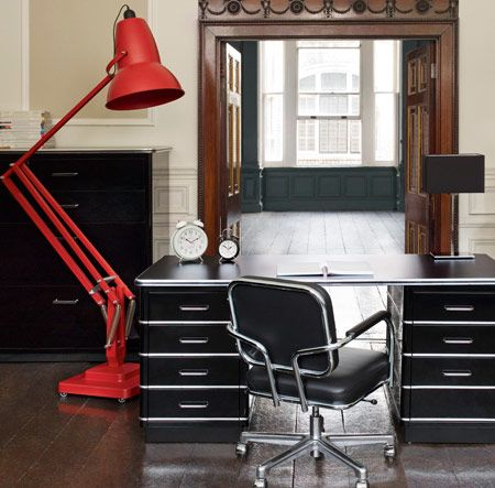 Giant anglepoise lamp and desk from heals home decor lighting giant anglepoise lamp and desk from heals aloadofball Choice Image