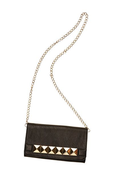 Envelope clutch in black by Izzy & Ali, $53 at SHOP.