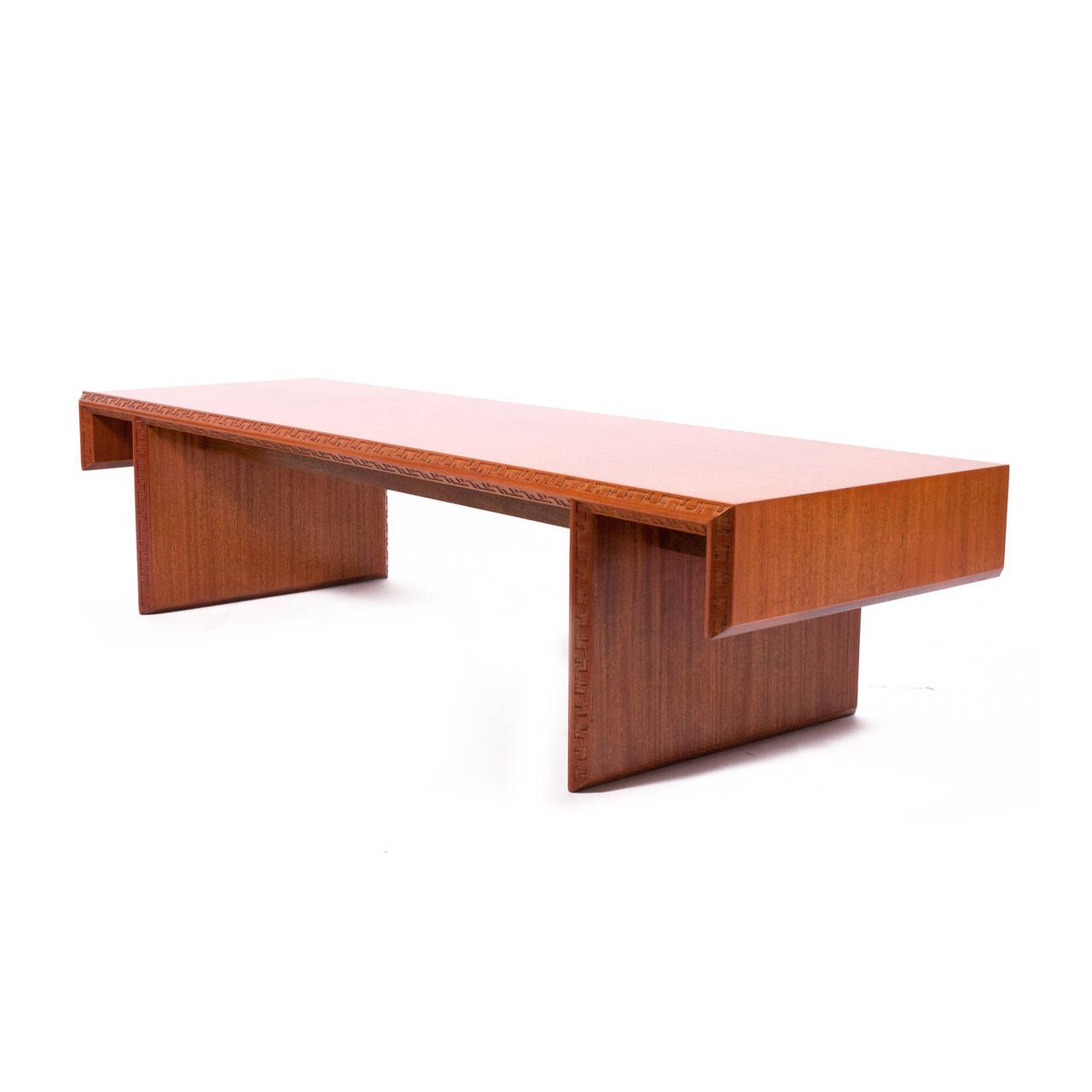 - Frank Lloyd Wright Mahogany Coffee Table Or Bench From A Unique  Collection Of Antique And Modern Coffee … Mahogany Coffee Table, Coffee  Table, Coffee Table Wood