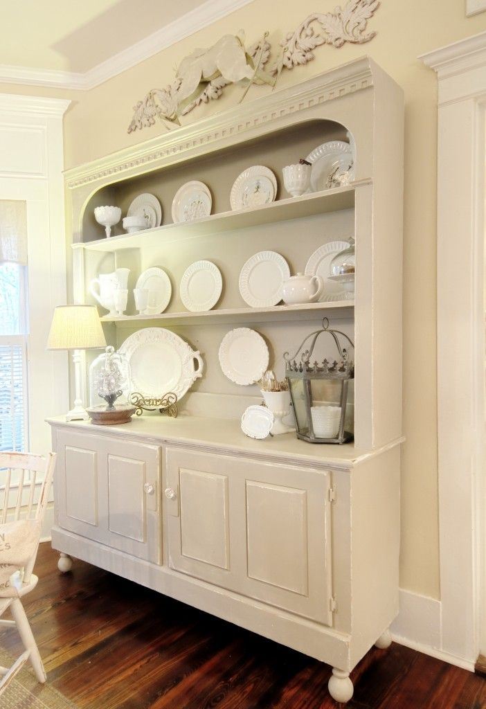 My Macaroni And Cheese Kitchen  Thistlewood Farms Shelves And Room Brilliant White Kitchen Hutch Design Inspiration