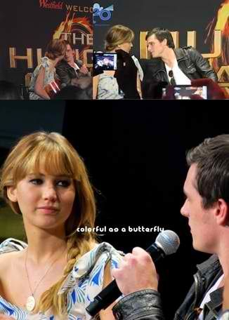 Joshifer moments during mall tour... I just watched the full 20 minute interview and it was awesome!!