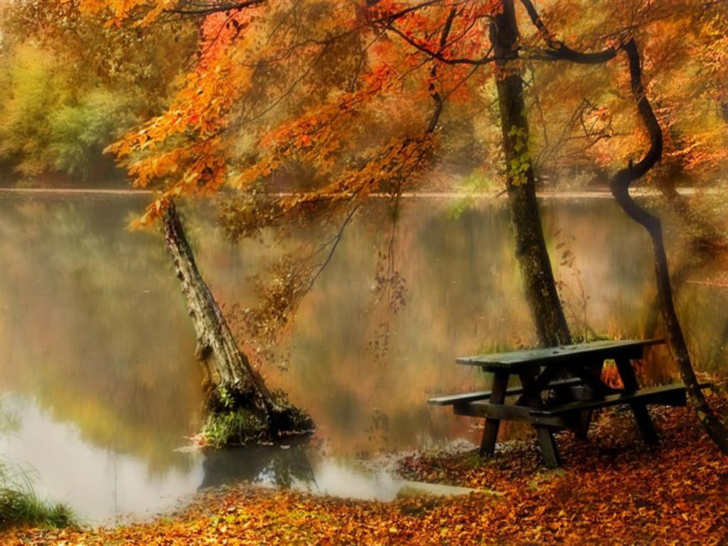 Autumn Fall Pictures Autumn Lake Fall Leaves Pictures