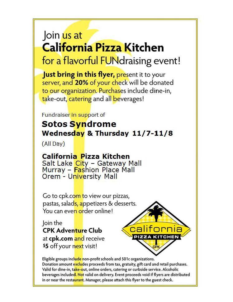 California Pizza Kitchen Utah Locations