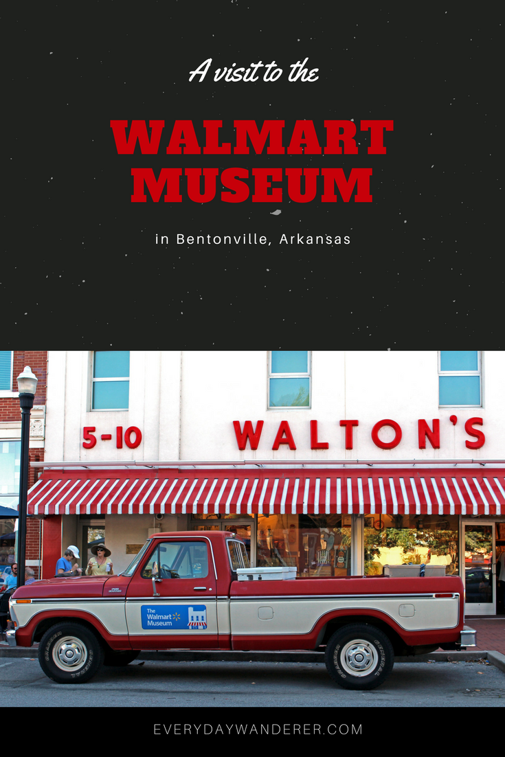 Free museum in Bentonville, Arkansas that shares the history of this Fortune #1 company founded by Sam Walton #arkansas #bentonville #walmart