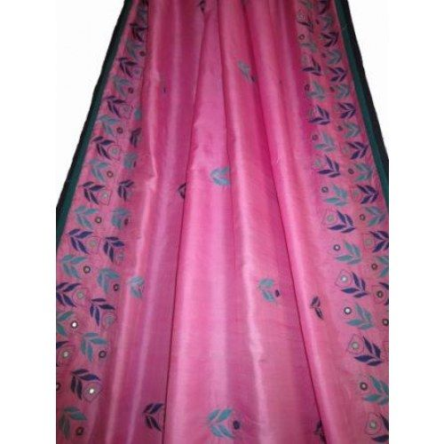 Pure Silk With Kutch Embroidery Online Shopping For Heavy Work