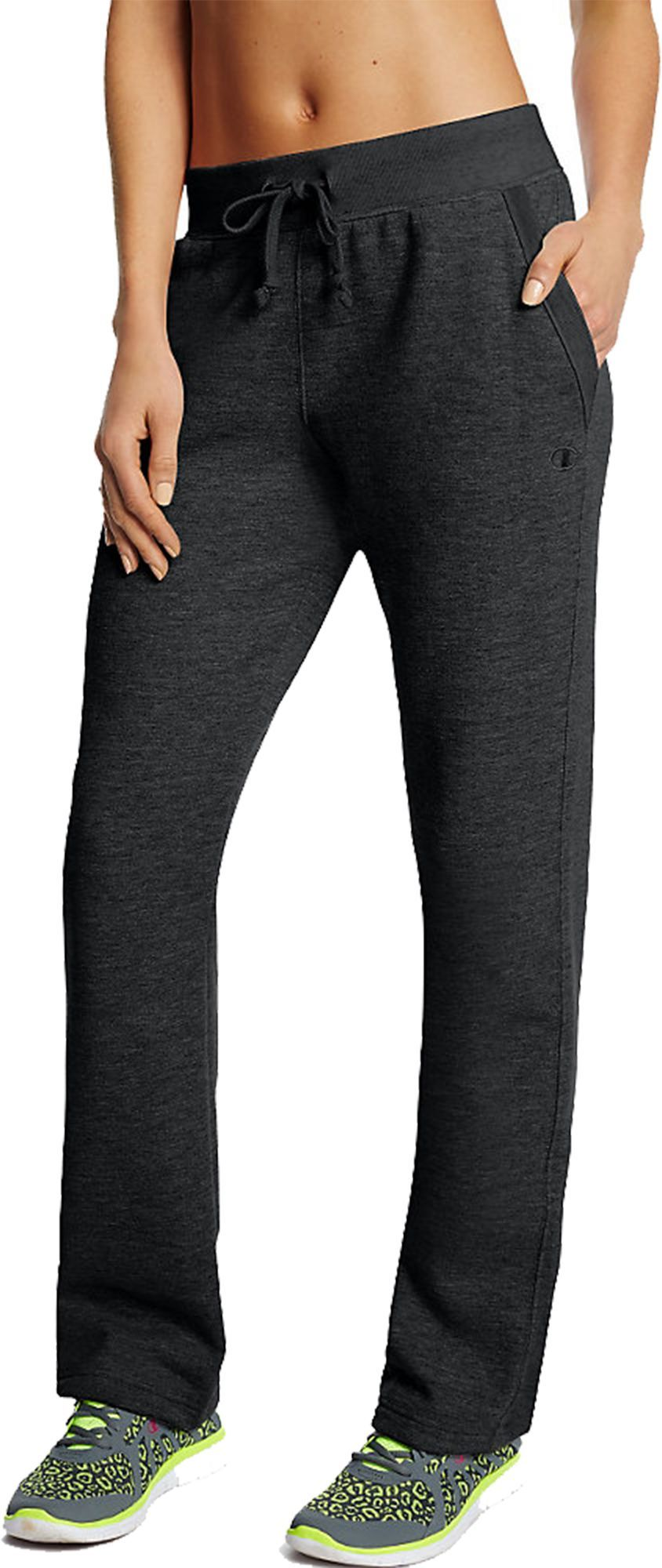 0c0800efaaa57 Champion Women s Fleece Open Bottom Pants